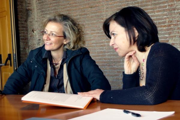 Mercati Di Traiano - Irene Baldriga and Dr. Del Moro