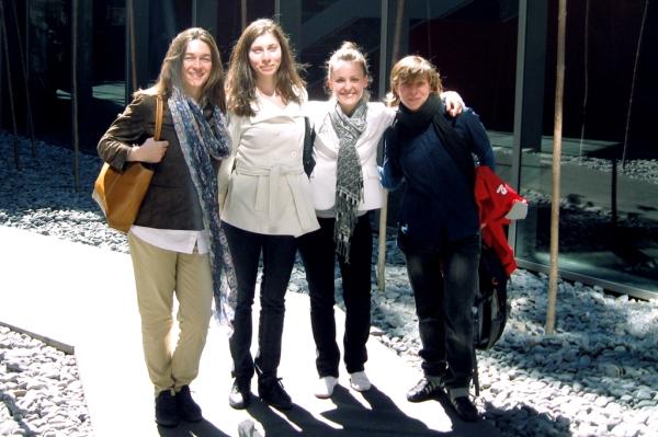 The Hungarian Team: Anikó Illés, Boglárka Miriszlai, Anna Ildikó Pető, Judit Gellér