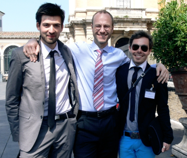 The French Team: Florian Metral, Jean-Miguel Pire, Gaylord Brouhot