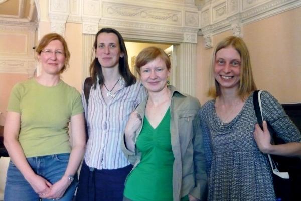 The Latvian Team: Ilze Vitola, Daina Zalane, Ilze Kupka, Ineta Zelca-Simansone